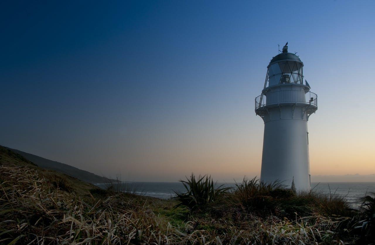 An end of the world feel at Kahurangi Point Lighthouse. Photo: Raymond Salisbury