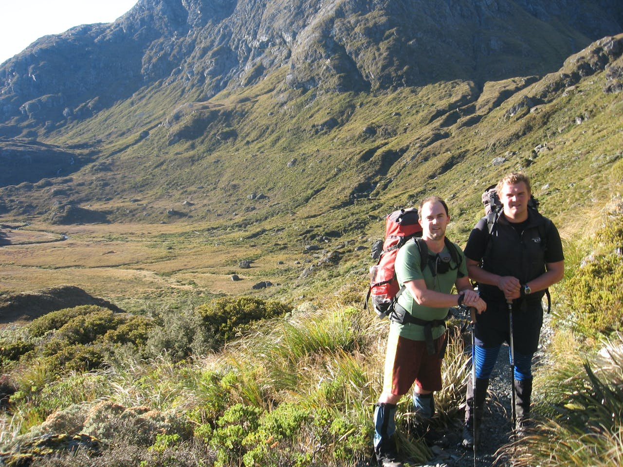 Nathan and Nigel Watson intend to climb 21 peaks over 2000m in height in 21 days