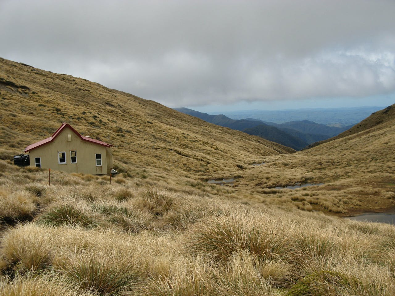 Trampers can still stay at Kime Hut but bunk space has been reduced to 10 until the upgrade is complete