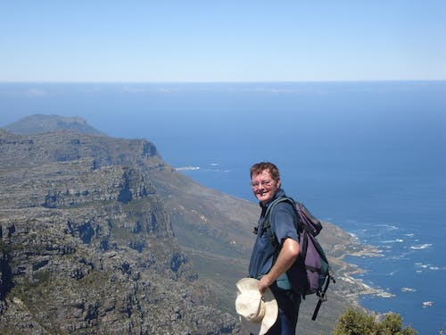Subscription prize Paul Reid was in South Africa when he learned of his win