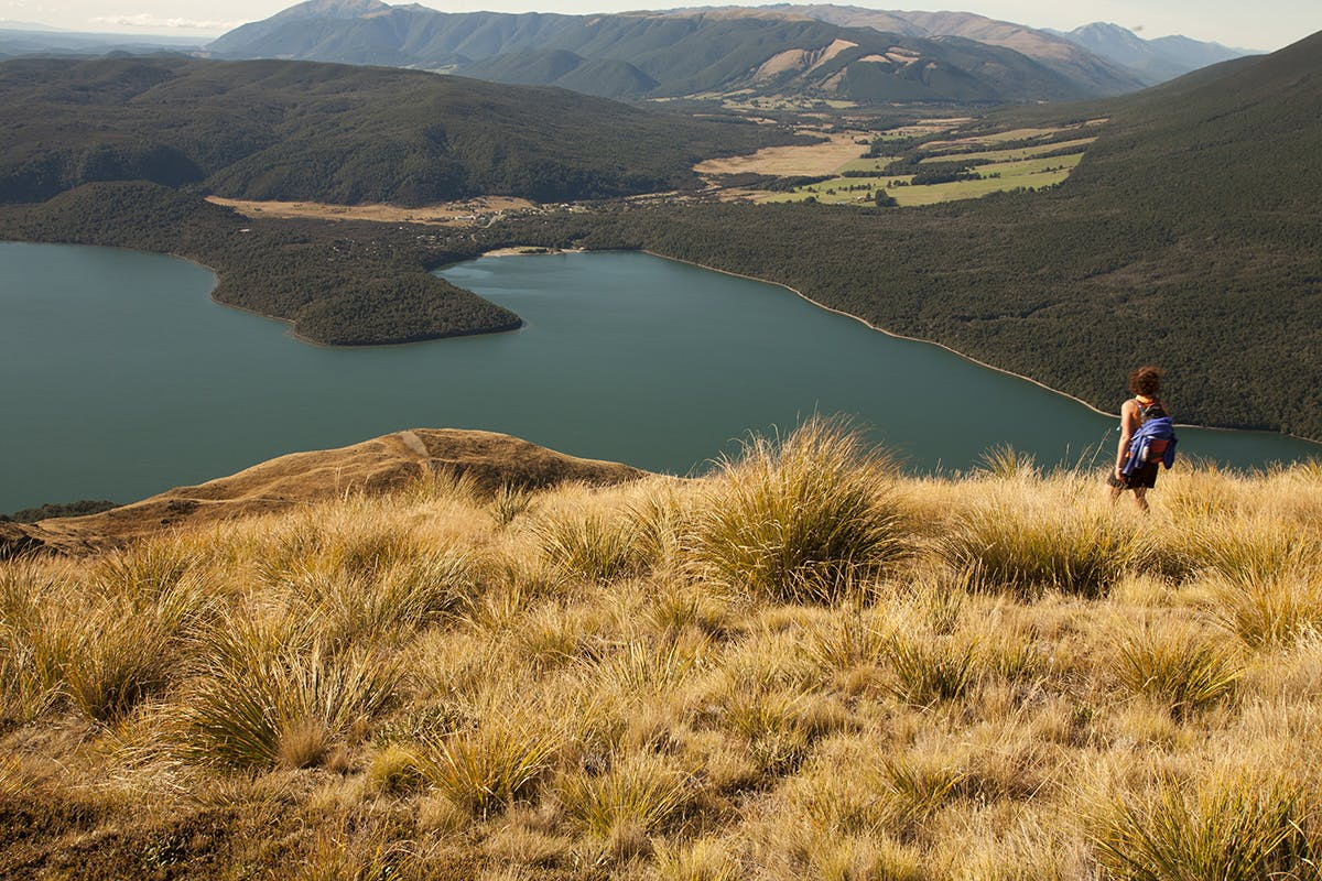 Lake Rotoiti from near Bushline Hut. Photo: Nick Groves