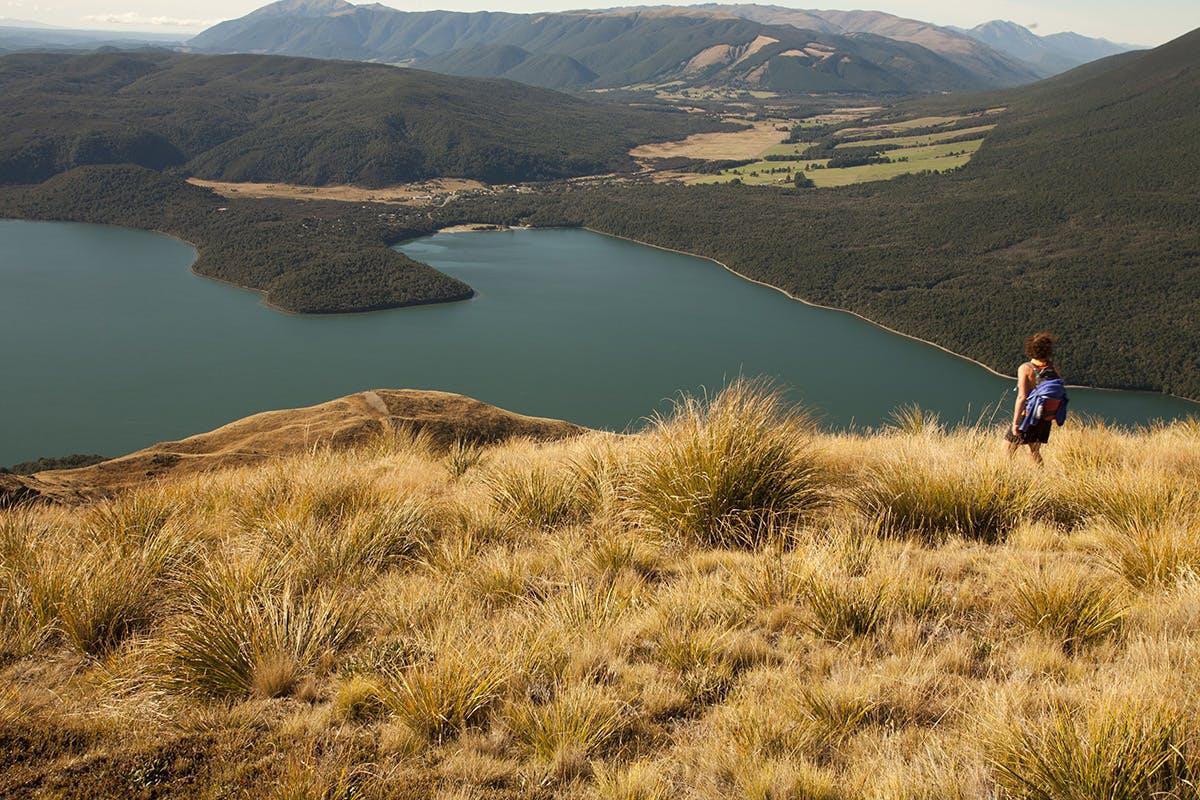 Lake Rotoiti from near Bushline Hut. Photo: Nick Groves