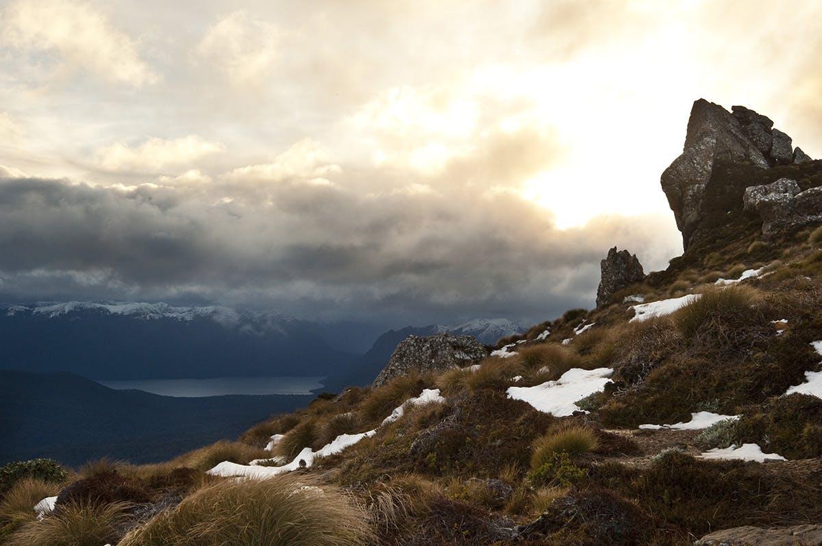 A soul-lifting view – Fiordland's Lake Poteriteri. Photo: Shaun Barnett/Black Robin Photography