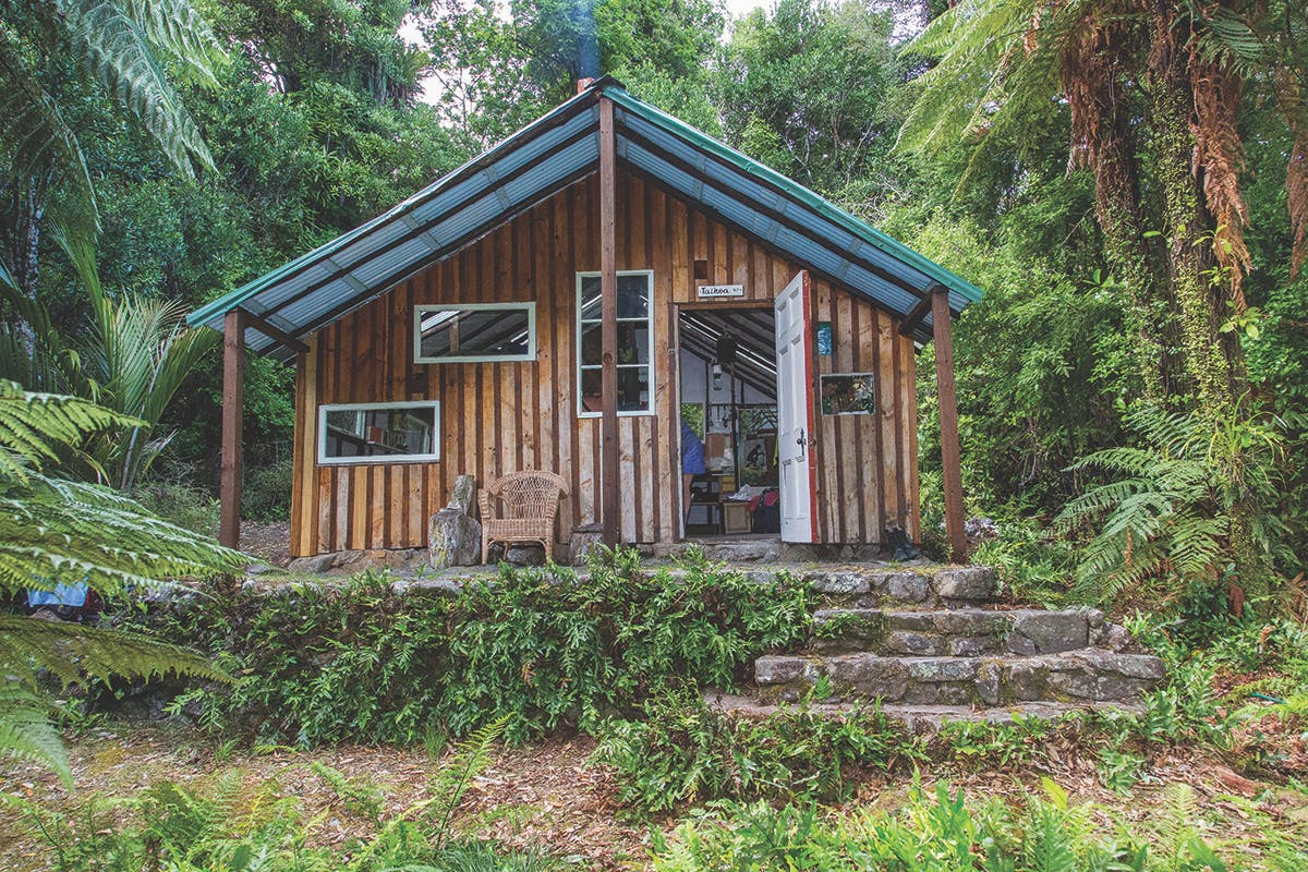 Taihoa Hut is more than 50 years old. Photo: Supplied