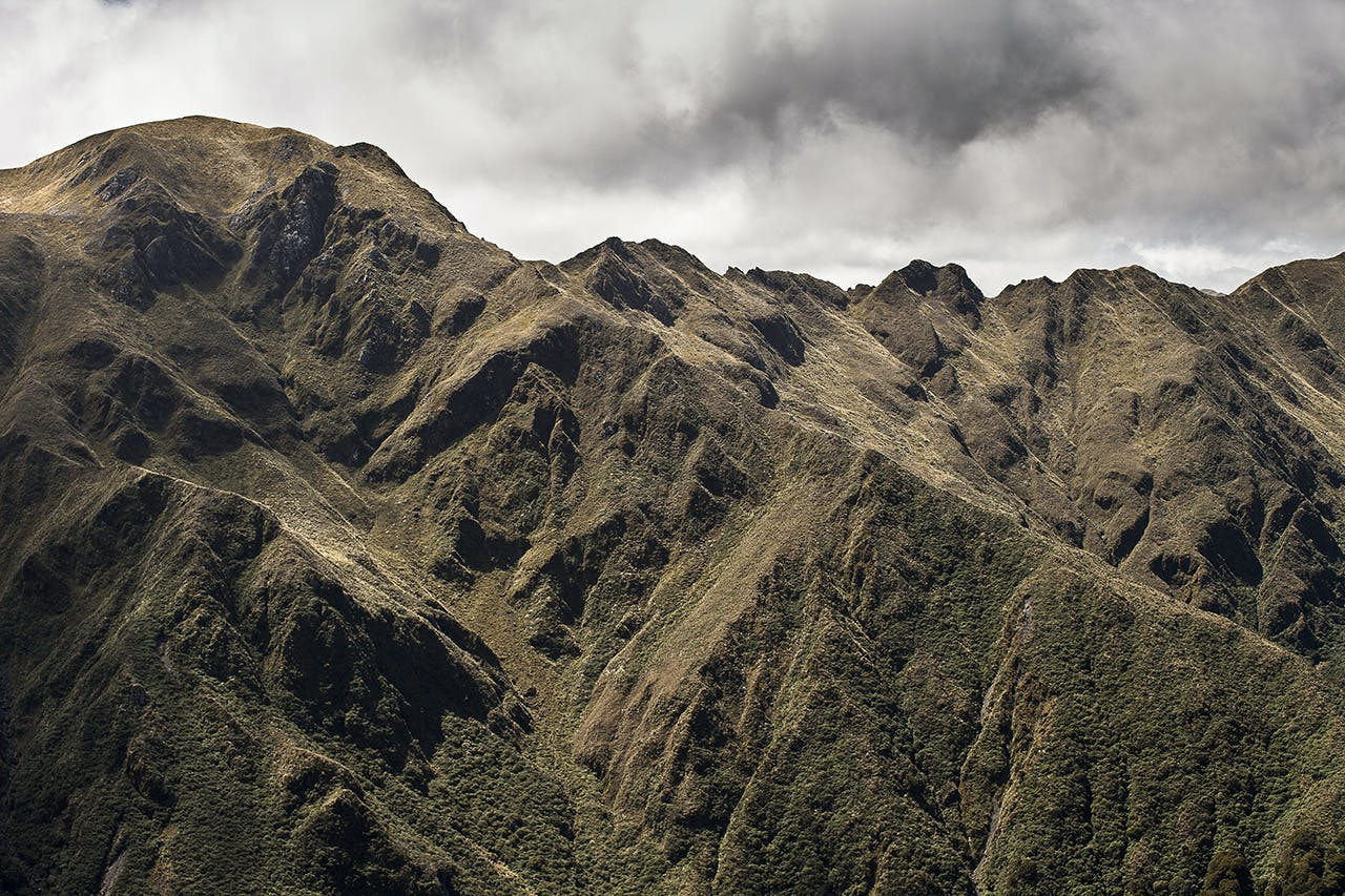 The Broken Axe Pinnacles is an essential, though frightening, Tararua experience. Photo: mark Watson