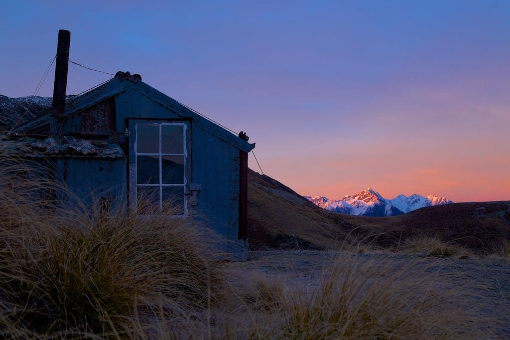Heather Jock Hut.Whakaari Conservation Area.Sarah Smith