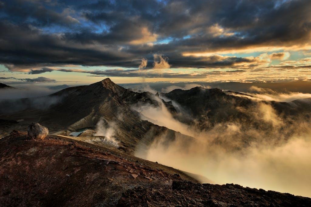 Red Crater.Tongariro National Park.Eugene Polkan