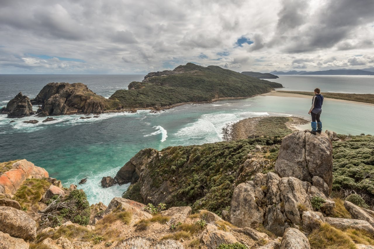 Stewart Island is renowned for its rough, muddy tracks. It's also incredibly beautiful. Photo: Danilo Hegg