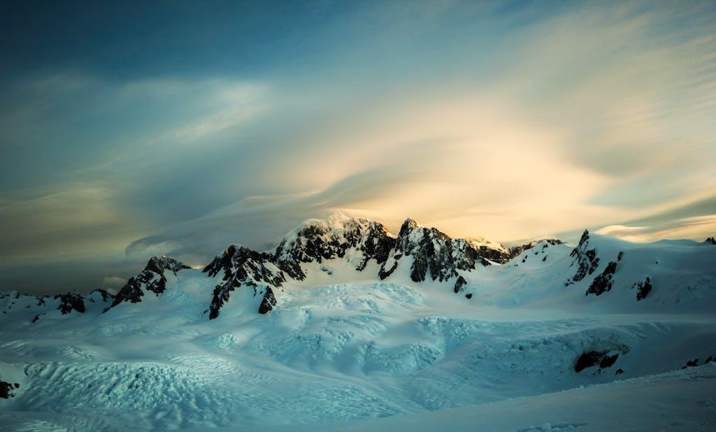Fox Glacier.Mt Tasman.Noel Walker