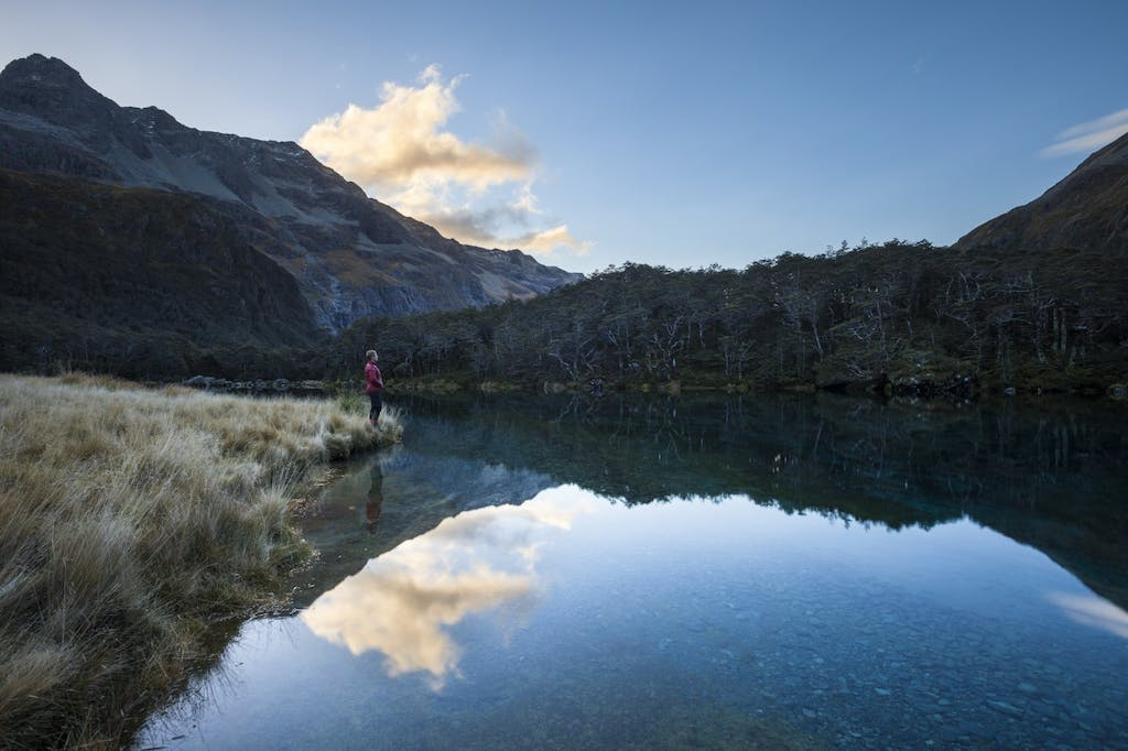 Evening at Blue Lake. Photo: Mark Watson