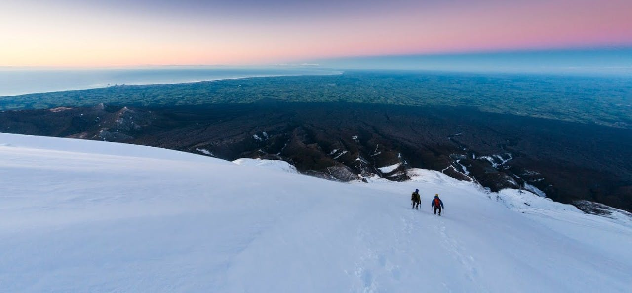 Mt Egmont/Taranaki is a great winter objective. Photo: Mark Watson
