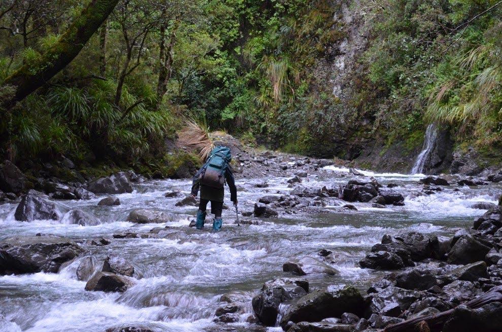 Crossing Tukituki River. Photo: Ricky French