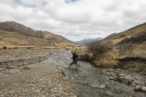 Crossing Edwards River
