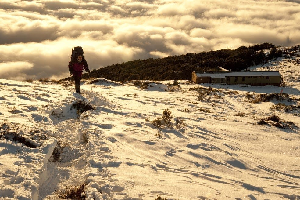 The Kelper Track in winter - yours and yours alone. Photo: Shaun Barnett