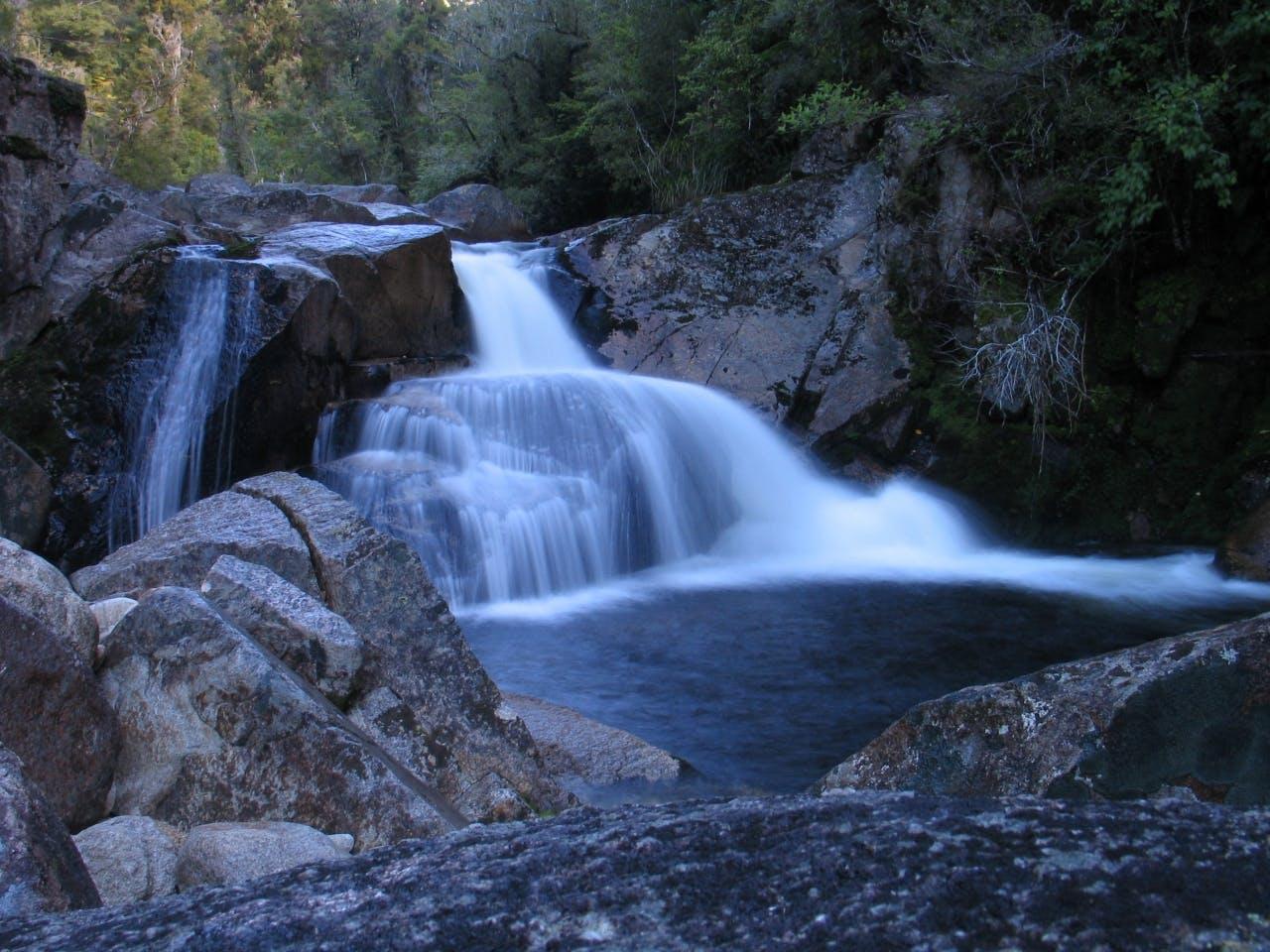 Falls River - the pool - by Abel Tasman Canyons