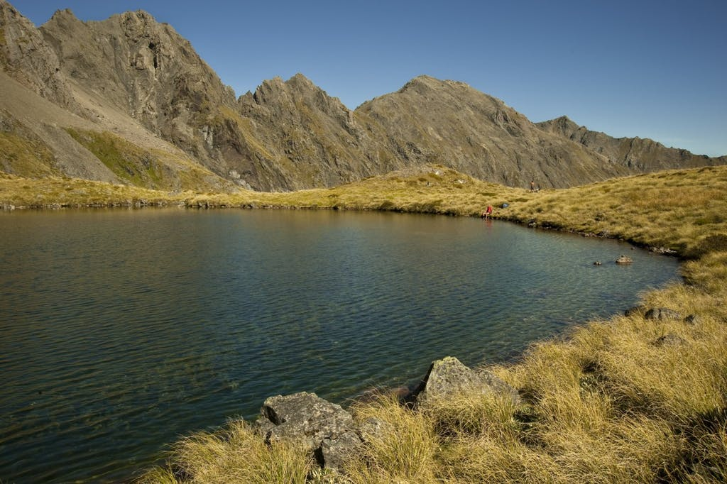 Hellfire Tarn is a perfect place to cool off. Photo: Shaun Barnett/Black Robin Photography