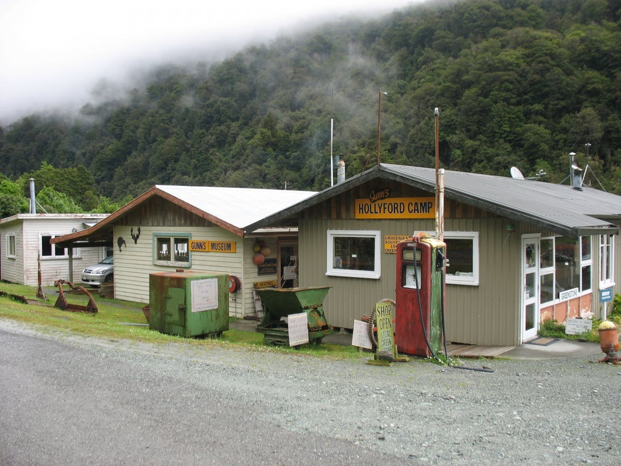 Gunn's Camp Museum has some intriguing and quirky exhibits. PHOTO: Paul Rush
