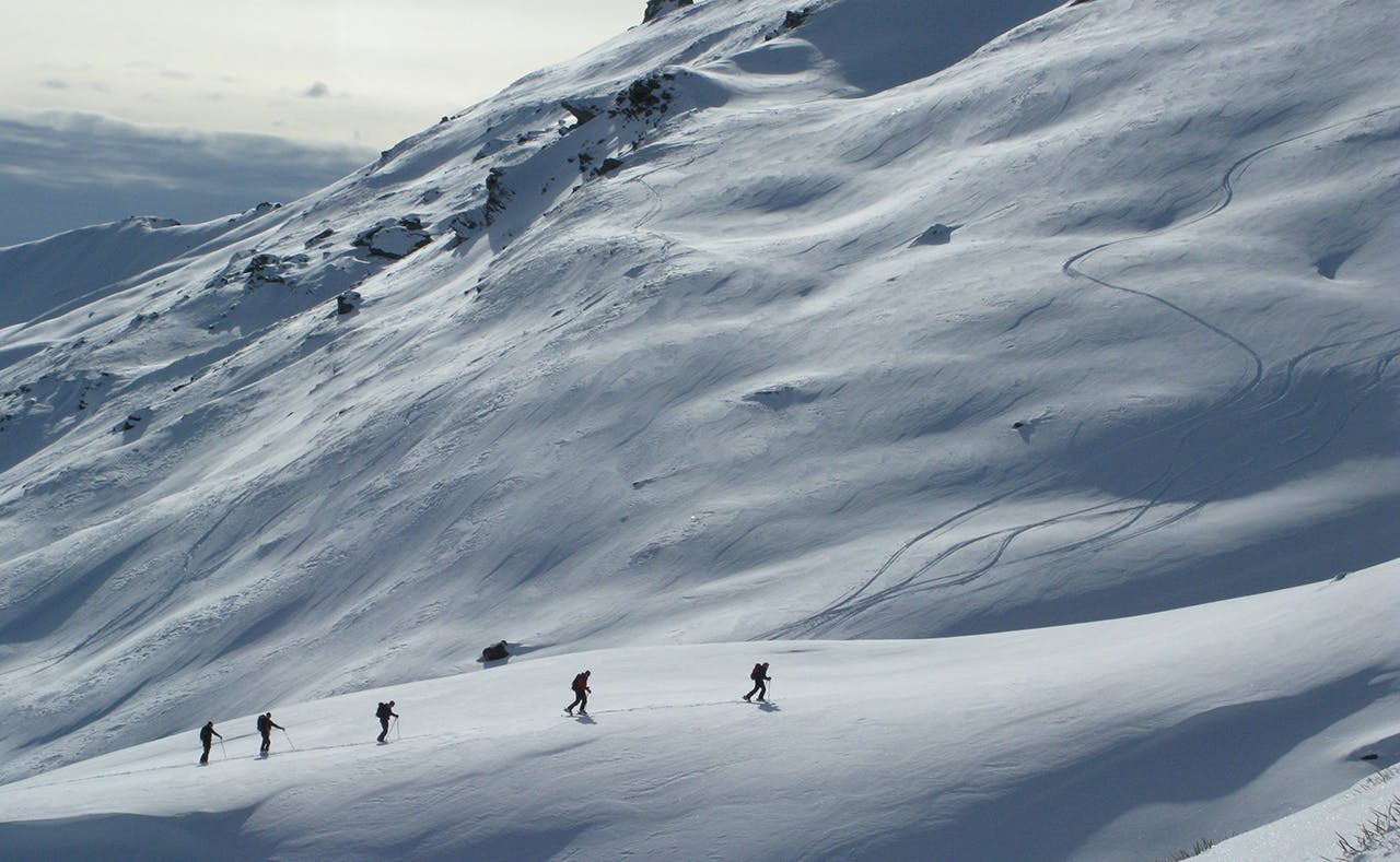 The big question is whether the MSC's new focus on messaging will result in fewer backcountry. Photo: Aspiring Guides
