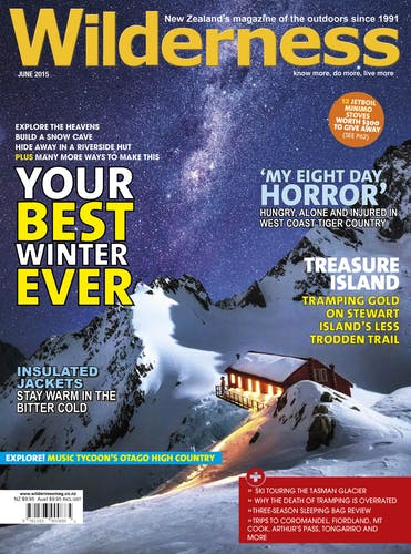 Image of the June 2015 Wilderness Magazine Cover