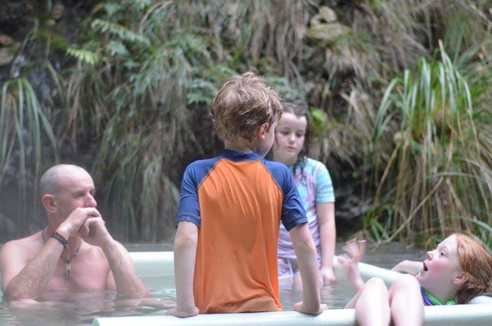 Mangatainoka Hot Pools. Photo: Ricky French