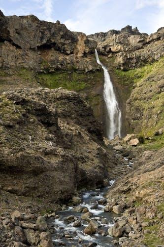 The 56m falls on the Mangaturuturu River. Photo: Shaun Barnett/Black Robin Photography