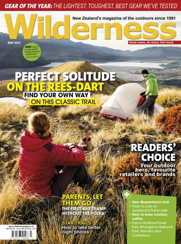 Image of the May 2015 Wilderness Magazine Cover