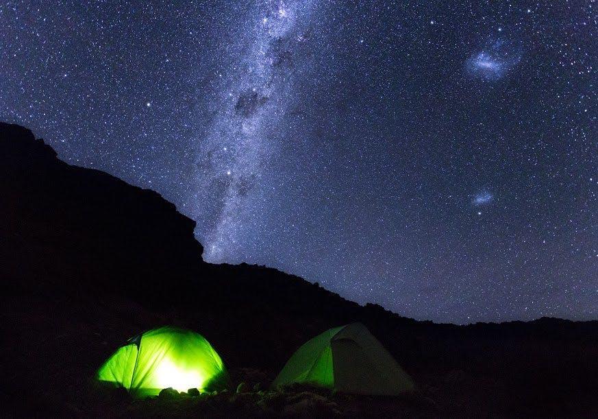 The winter night sky is a marvel. Photo: Joshua Windsor