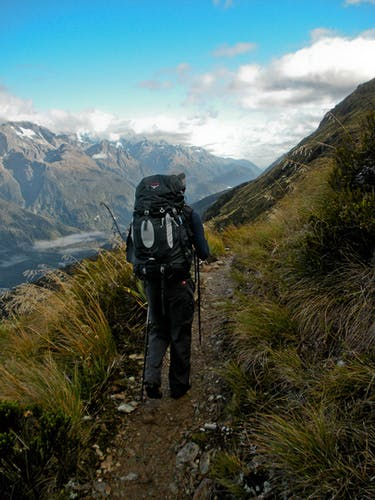 DOC's own management plan aims to limit numbers on the Routeburn Track. Photo: Chris Murphy, Creative Commons