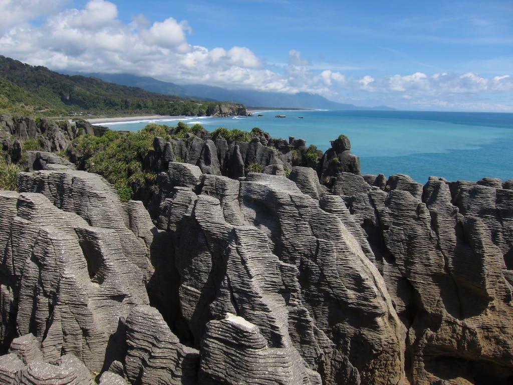 The proposed Great Walk would start at Pancake Rocks, Punakaiki. Photo: NKO CC