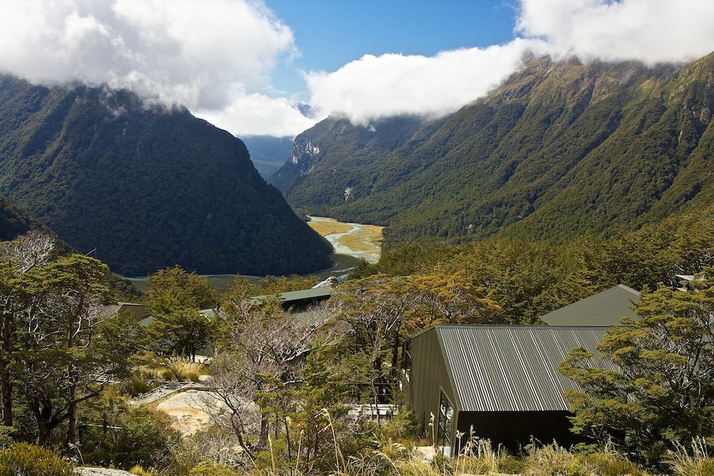 The number of guided walkers on the Routeburn Track has been a matter of contention. Photo: Harald Selke