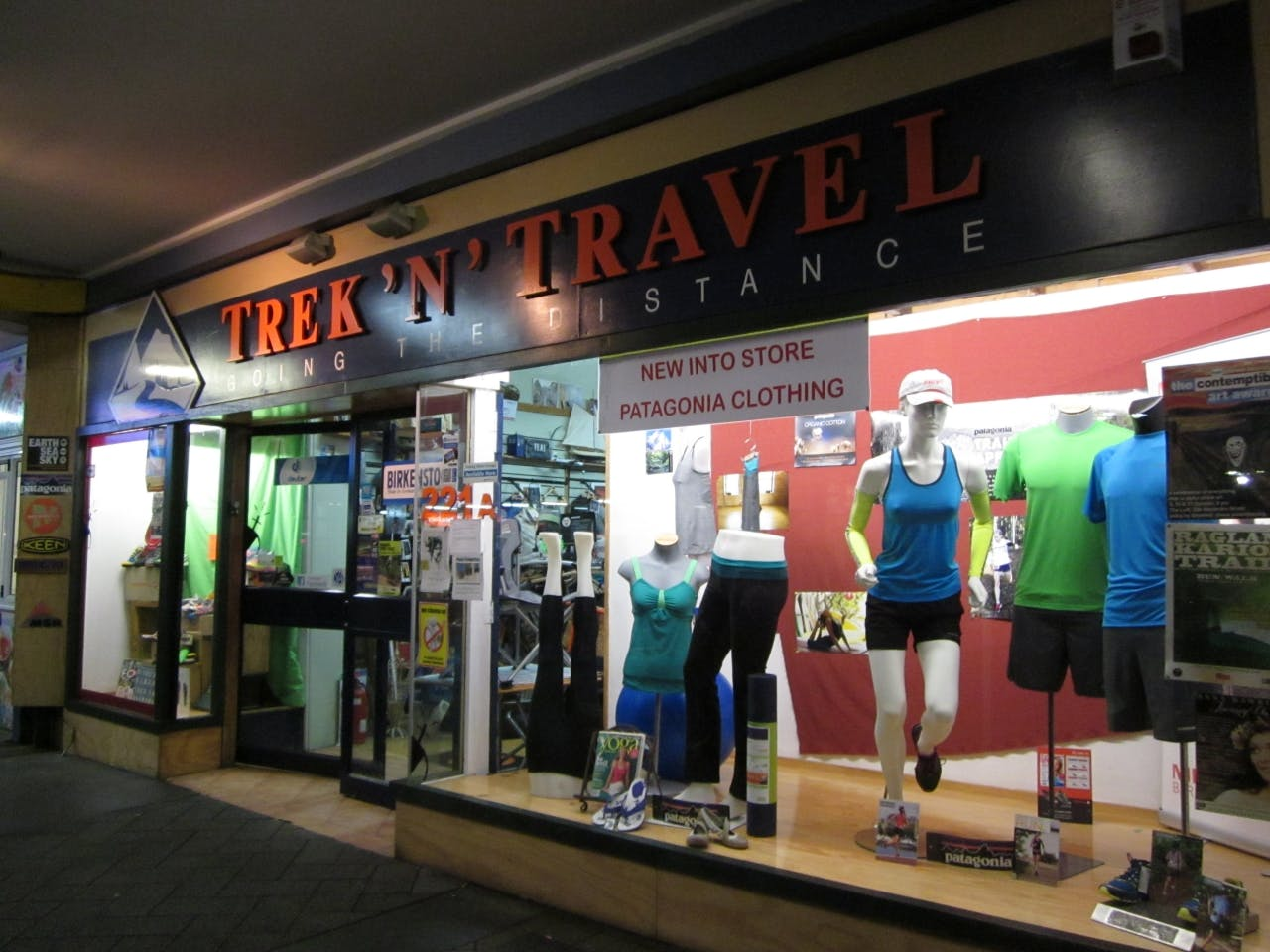 Hamilton retailer Trek 'n' Travel stocks a variety of brands but owner Colin Hancock says the recession has made things tough.