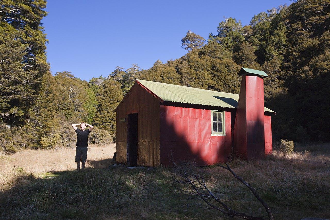 Wainui Hut is the perfect Abel Tasman National Park bolt-hole. Photo: Ray Salisbury