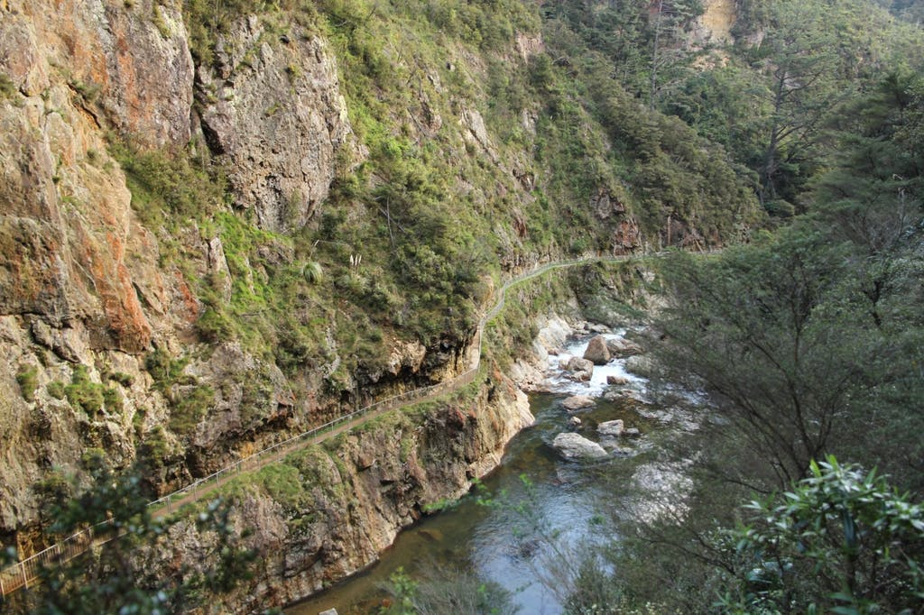 The Windows Walk in Karangahake Gorge is a popular track. Photo: Alison Thomas, Creative Commons