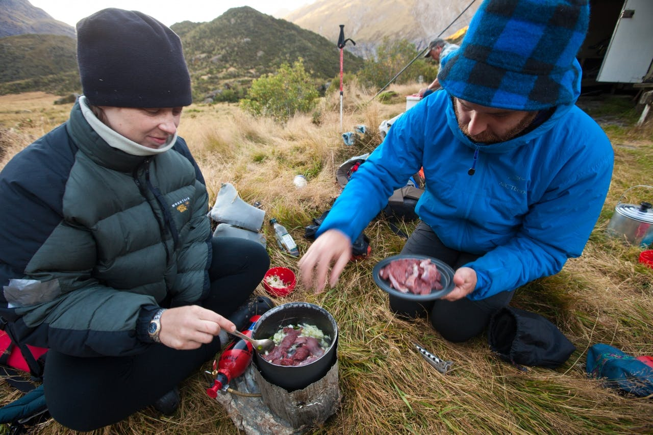Though high in protein – and delicious – lean meat like chamois won't provide as much fuel for hard multi-day tramps as high-fat meats like salami