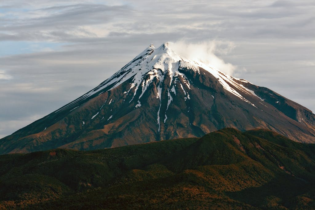 Mt Taranaki could be goat-free within 10 years. Photo: Dave Young, Creative Commons