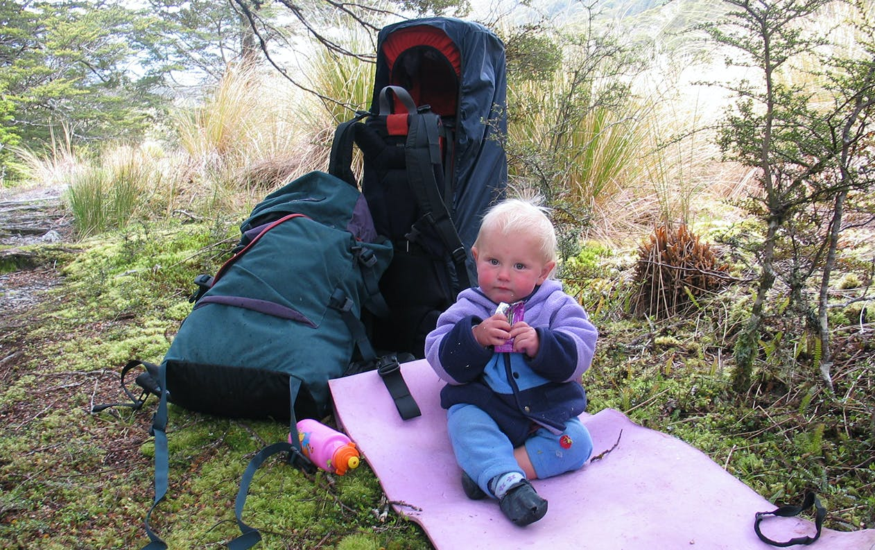 Starting young will help foster a lifetime appreciation of the outdoors. Photo: Mark Brabyn