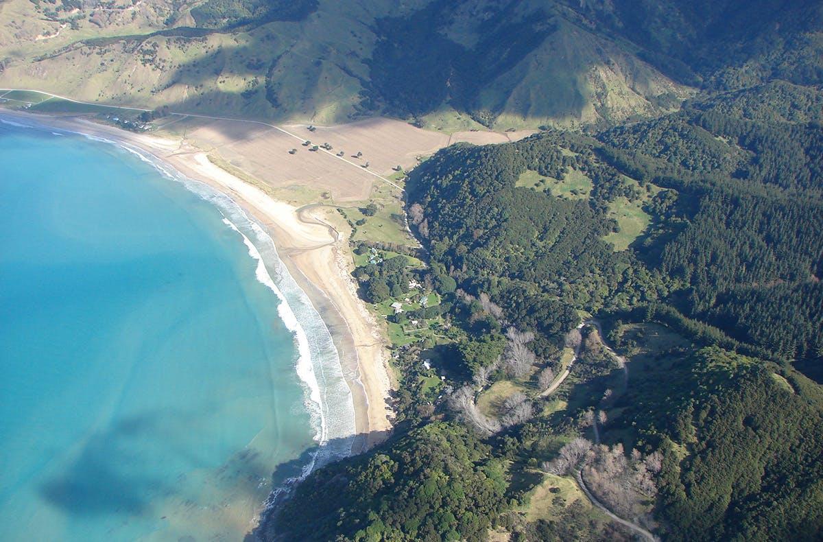 Anura Bay on the East Coast. Photo: Supplied