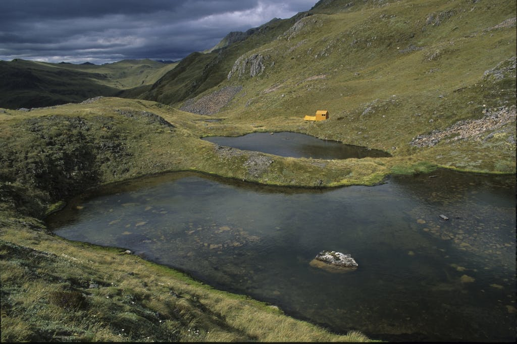Brass Monkey Tarns and biv. Photo supplied