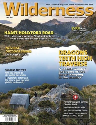 Image of the May 2014 Wilderness Magazine Cover