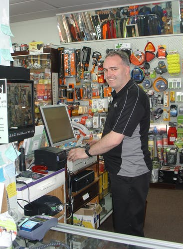 Craig Burke from Southern Adventure says people get advice from him and then head online for cheaper prices. Photo supplied