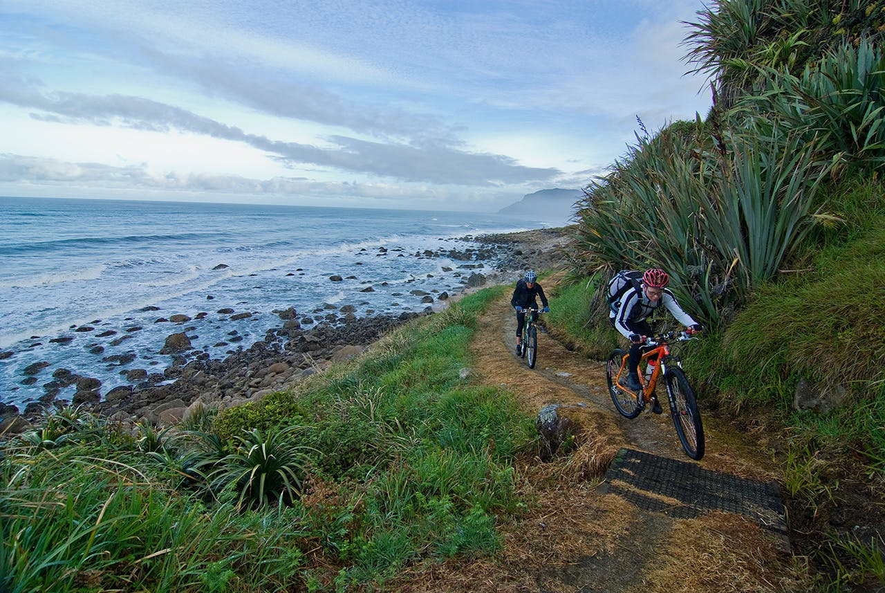 Mt Biking on the Heaphy Track is proving popular. Photo: Dave Mitchell