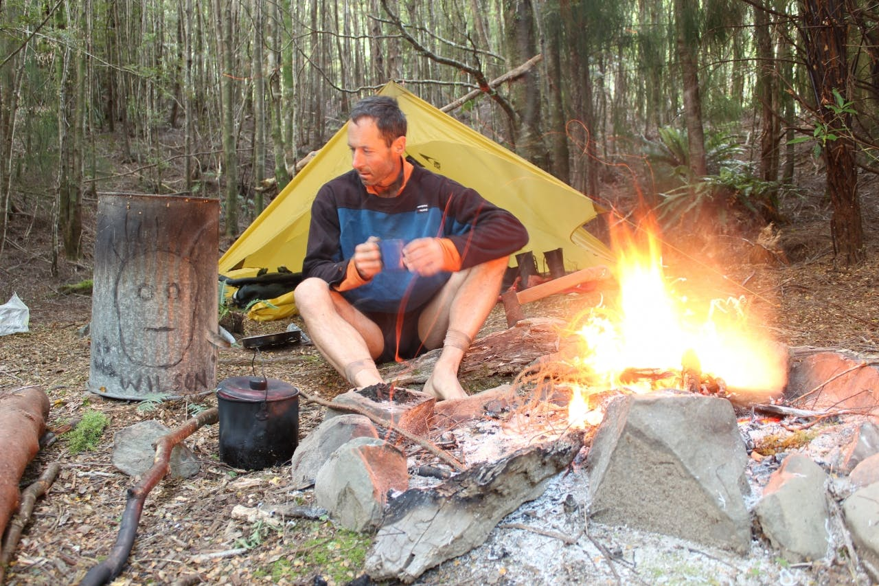 Mark Jones spent 19 days living off the land and tramping 200km off track in the Ureweras. Photo supplied