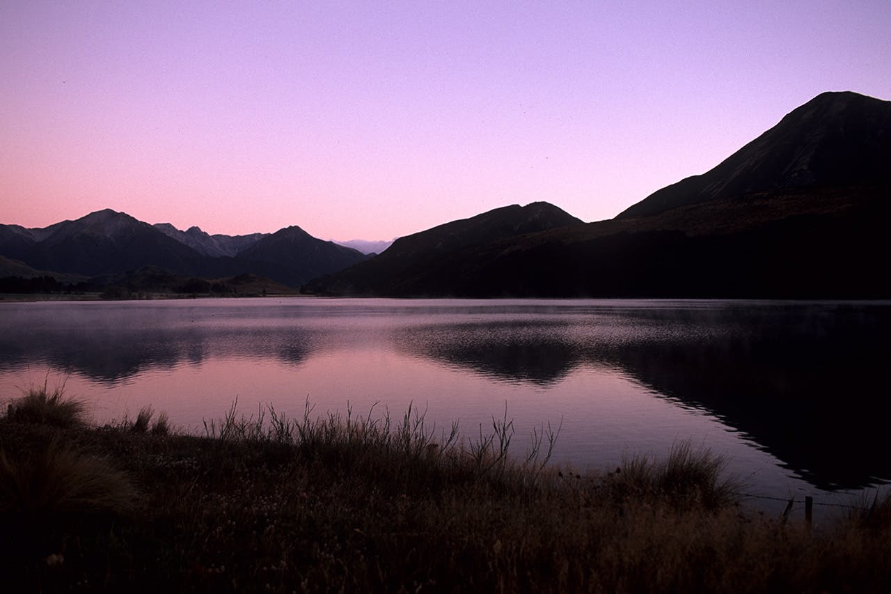 Lake Grasmere. Photo: Pat Barrett