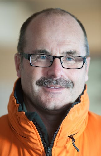 DOC director general Lou Sanson has a ridge in Antarctica named after him