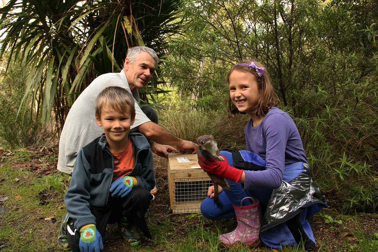 Predator control needs to become part of everyday life for all Kiwis. Photo: Supplied
