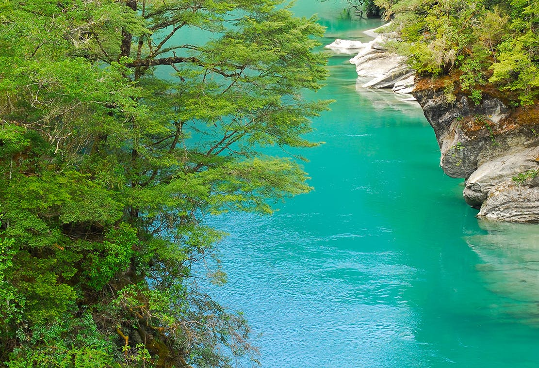 The Matakitaki's gently flowing waters a novice kayaker's dream. Photo: Zak Shaw Photography