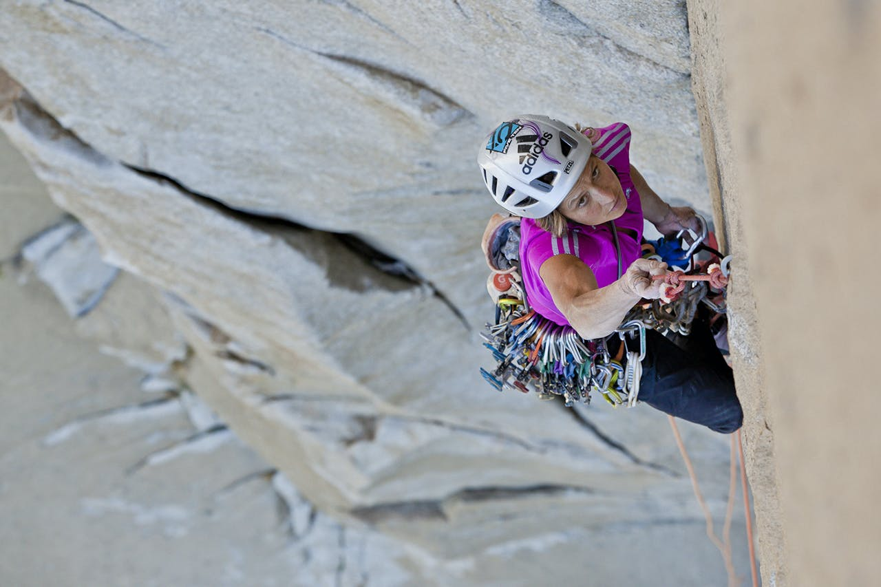 Mayan Smith-Gobat has received a Hillary grant to speed climb El Capitan and the Dome in Yosemite National Park, US. Photo: Supplied