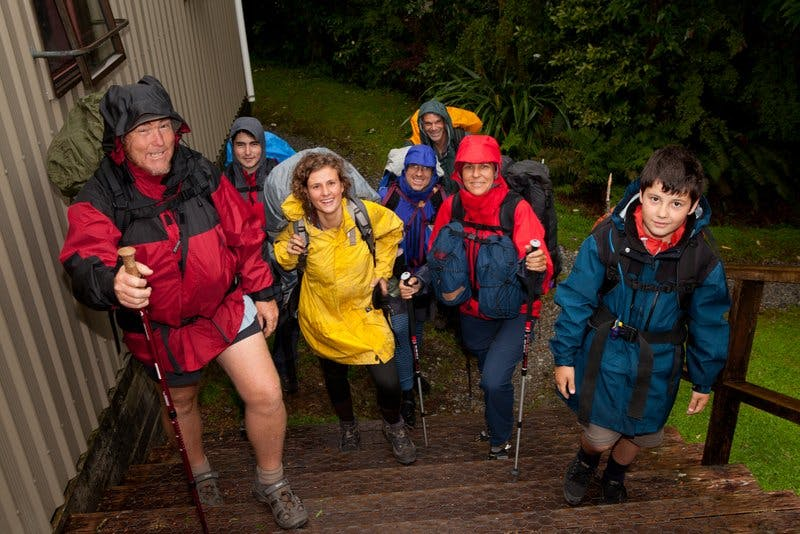 Wet weather dampened the experience for some on the Milford track, but the Routeburn and Kepler both had increases in tramper numbers. Photo: Keri Moyle/www.signsoflife.co.nz