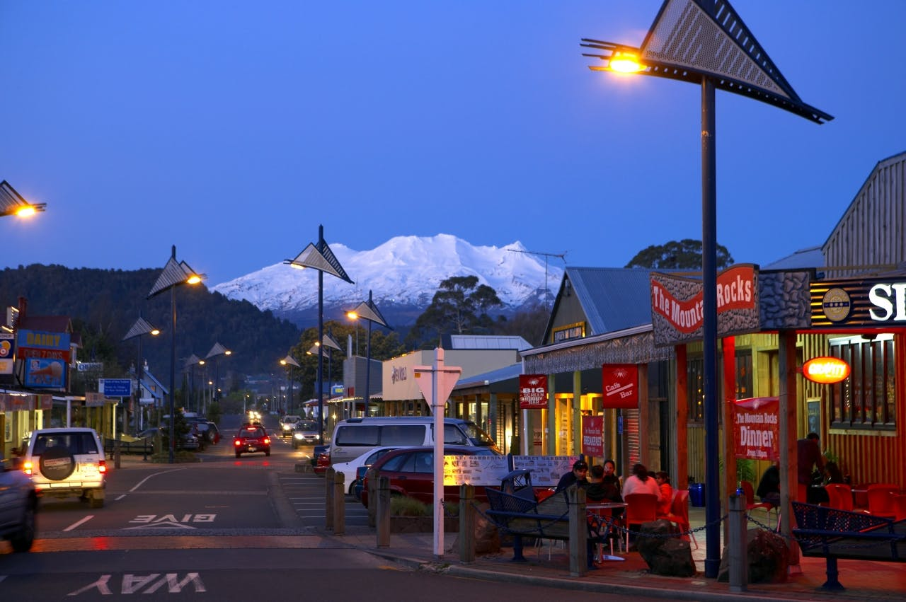Ohakune is a bustling winter town, but come summer visitor numbers start to dry up – making it hard to make a living for some locals