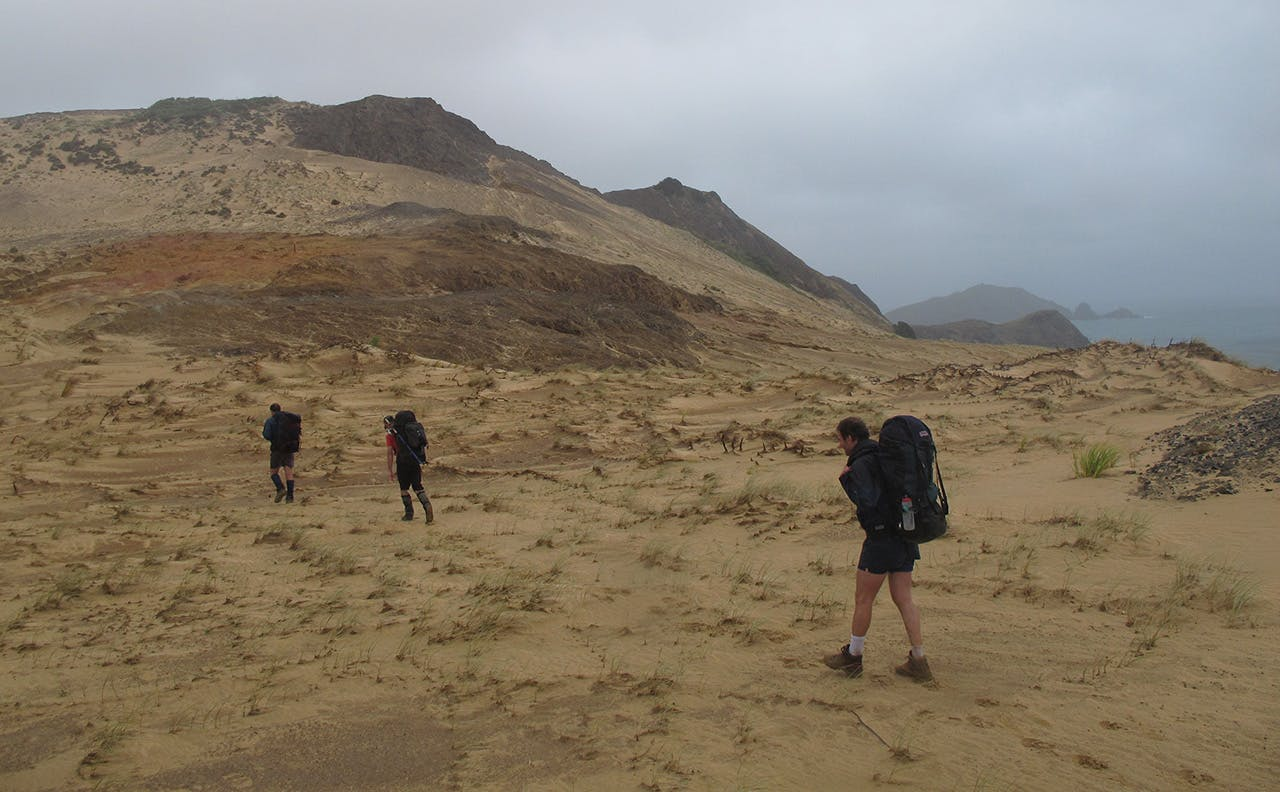 Crossing Cape Maria van Diemen. Photo: Wayne Pooley